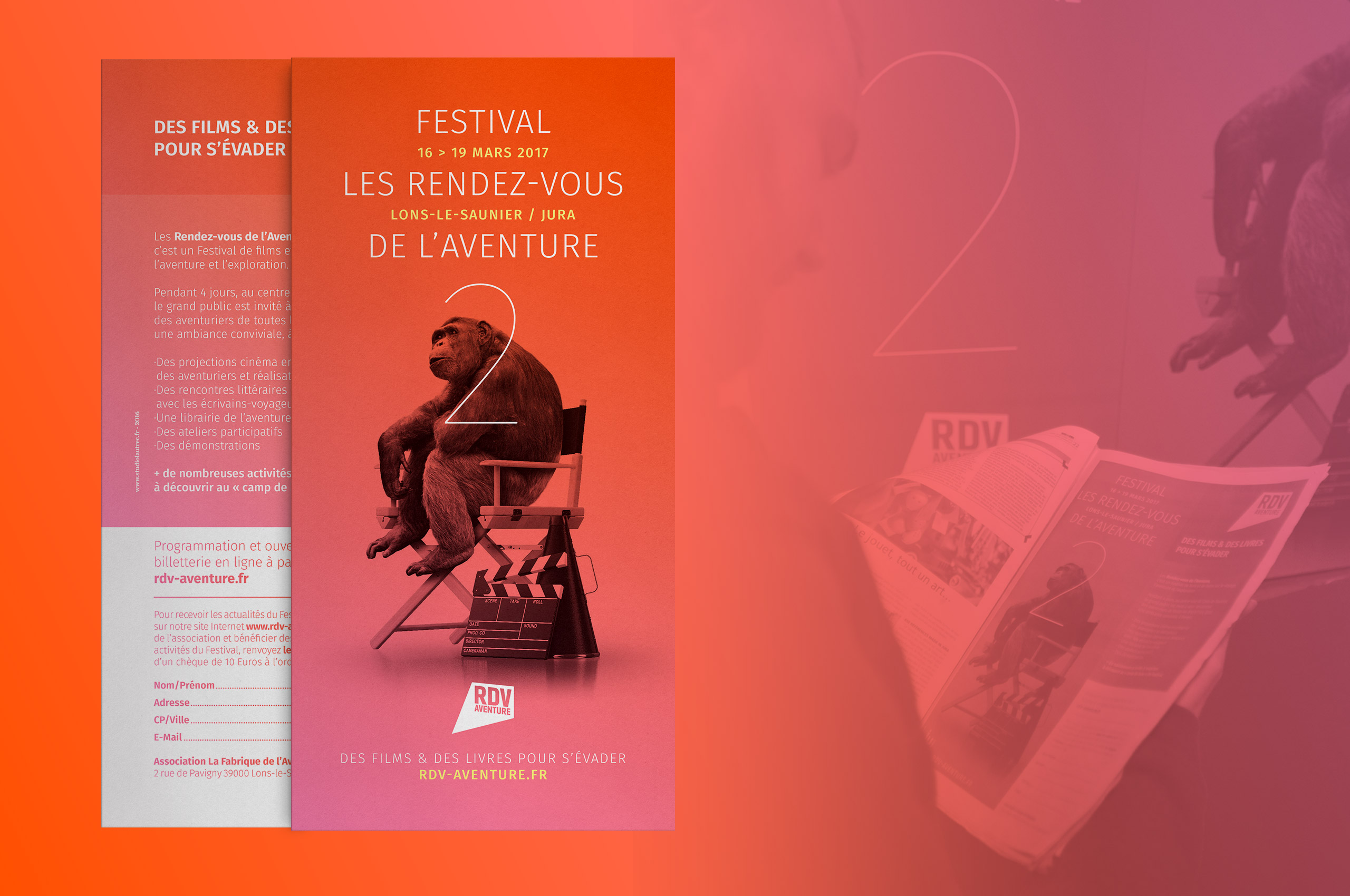 supports de promotion et de communication du festival